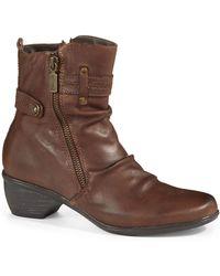Blondo Brown Farima Boots - Lyst