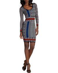 Plenty by Tracy Reese Slim Fit Sweater Dress - Lyst