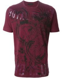 Diesel Black Gold Toriciy Royal Club T-Shirt - Lyst