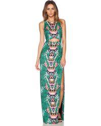 Mara Hoffman Cut Out Column Maxi Dress - Lyst