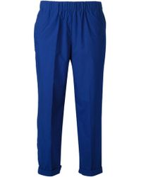Forte Forte Cropped Trousers - Lyst