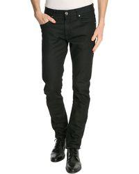 Armani Black Slim Fit Jeans - Lyst