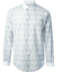 Marc Jacobs Peacock Feathers Print Shirt - Lyst