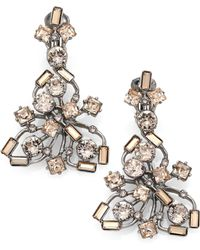 6aedffd39945 Shop Women s Oscar de la Renta Earrings from  125