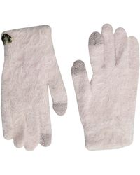 Betsey Johnson - Do Me A Solid Soft I Touch Gloves - Lyst