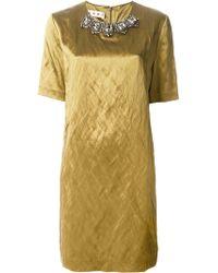 Marni Embellished Dress - Lyst