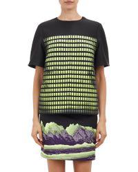 Alexander Wang Heatsensitive Neoprene Tshirt - Lyst