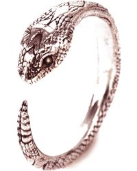 Pamela Love Serpent Ring in Yellow Gold Or Rose Gold Plate - Lyst