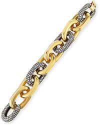 Lele Sadoughi Pave Crystal Link Bracelet - Lyst