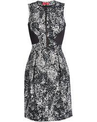 HUGO Short Dress black - Lyst