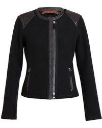 Frauenschuh - Mavie Boiled Wool and Nylon Box Jacket - Lyst