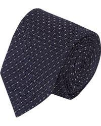 Drake's Dotted-line Grenadine Neck Tie - Lyst