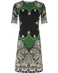 Etro Paisley A-line Dress - Lyst