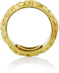 Olivia Collings - 1820S Repoussé 18-Karat Gold Ring - Lyst