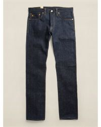 RRL Indigo-dyed Slim-narrow Jean - Lyst