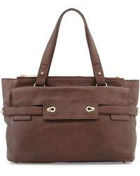 Elaine Turner Ruth Leather Tote Bag - Lyst