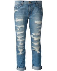 Current/Elliott 'The Fling' Jeans - Lyst