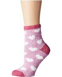 Life Is Good.   Lightweight Heart Snuggle Socks   Lyst
