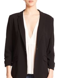 Elizabeth and James | Crepe Relaxed Jamie Blazer | Lyst