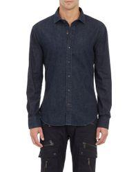 Ralph Lauren Black Label Denim Shirt - Lyst