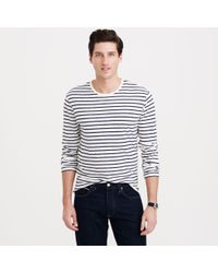 J.Crew Long-Sleeve Deck Stripe Tee - Lyst