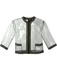 Jean Paul Gaultier Clear See-through Jacket - Lyst