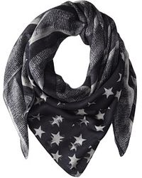 Givenchy Flag Printed Modal Cashmere Scarf - Lyst
