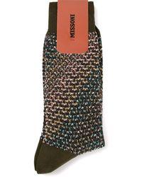 Missoni Print Socks - Lyst