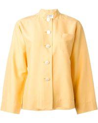 Yves Saint Laurent Vintage Boxy Buttoned Shirt - Lyst
