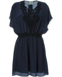 Forte Forte | Embroidered Appliqué Shortsleeved Dress | Lyst