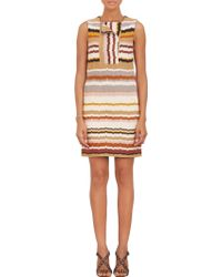 Missoni Multicolor Wavestripe Dress - Lyst