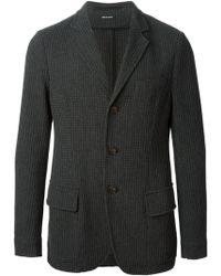 Giorgio Armani Textured Jacket - Lyst