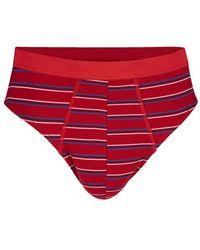 Babista Sportslips G Gregory 2x Marine/wit/rood, 2x Rood/marine/wit