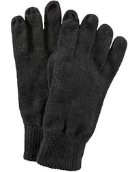 Babista Handschoenen Antraciet Gemêleerd - Zwart