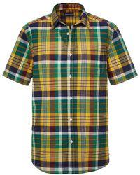 Babista - Overhemd Groen::geel - Lyst