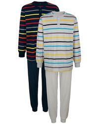 Babista Pyjama's Marine::grijs - Blauw