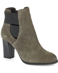 Kenneth Cole Reaction Cross Glow Ankle Boots - Lyst