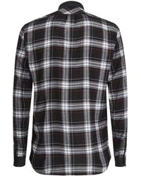 Diesel Checked Casual Shirt - Lyst