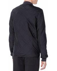 Lanvin Quilted Blouson Jacket - Lyst