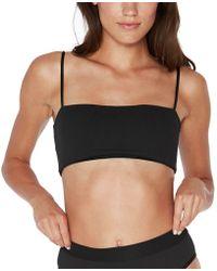 L*Space - Rebel Ridin' High Ribbed Bikini Top - Lyst