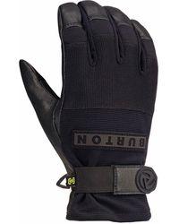 Burton Daily Leather Glove - Black