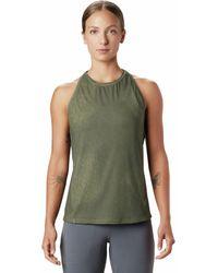 Mountain Hardwear Crater Lake Tank Top - Green
