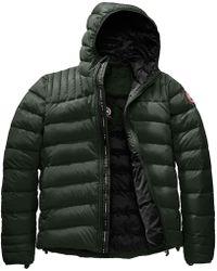 Canada Goose Brookvale Hooded Down Jacket - Black