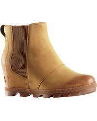 Sorel Joan Of Arctic Wedge Ii Chelsea Boots - Brown