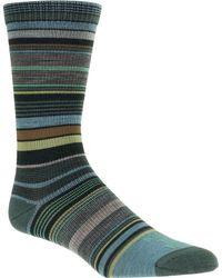 FARM TO FEET Ithaca Multi Stripe Sock - Multicolor