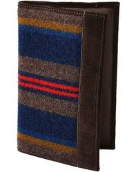 Pendleton Shelter Bay Collection Secretary Wallet - Multicolor