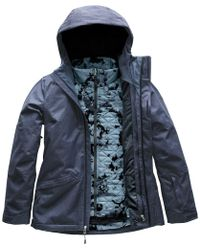 The North Face - Thermoball Snow Triclimate Hooded 3-in-1 Jacket - Lyst