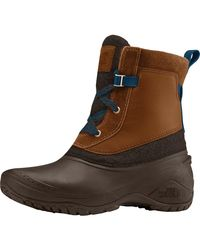 The North Face Shellista Iii Shorty Boot - Brown
