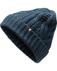 Lyst - The North Face Gateway Beanie in Blue for Men 29bf4d006