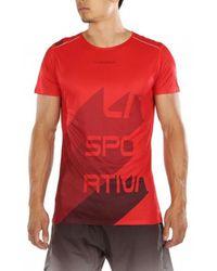 La Sportiva Stream T-shirt - Red